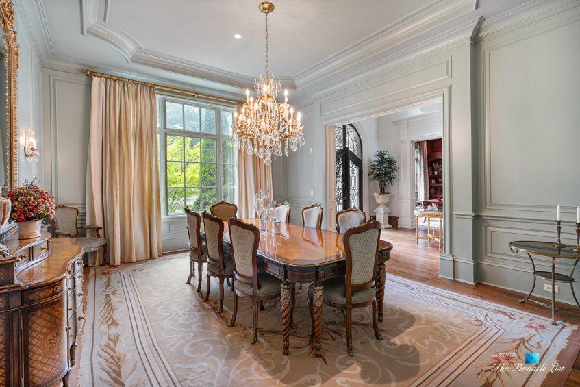5705 Winterthur Ln, Sandy Springs, GA, USA - Atlanta Luxury Real Estate - Winterthur Estates Home - Formal Dining Room
