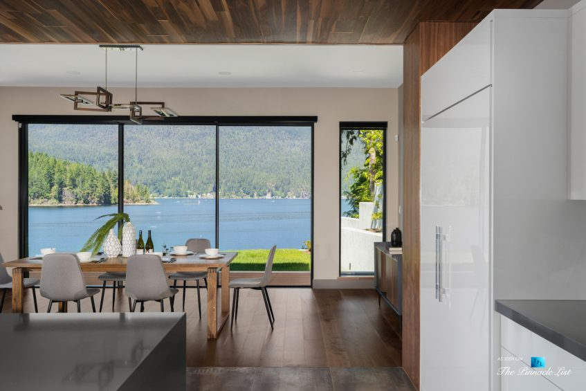 3350 Watson Rd, Belcarra, BC, Canada - Vancouver Luxury Real Estate - Oceanview Dining Room