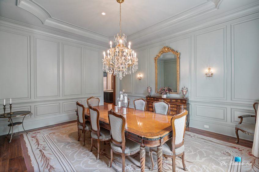 5705 Winterthur Ln, Sandy Springs, GA, USA - Atlanta Luxury Real Estate - Winterthur Estates Home - Designer Dining Room