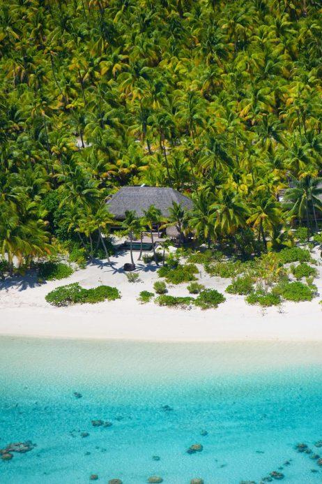 The Brando Luxury Resort - Tetiaroa Private Island, French Polynesia - Aerial Resort Villa View
