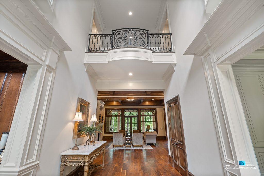 5705 Winterthur Ln, Sandy Springs, GA, USA - Atlanta Luxury Real Estate - Winterthur Estates Home - Foyer Second Floor Balcony
