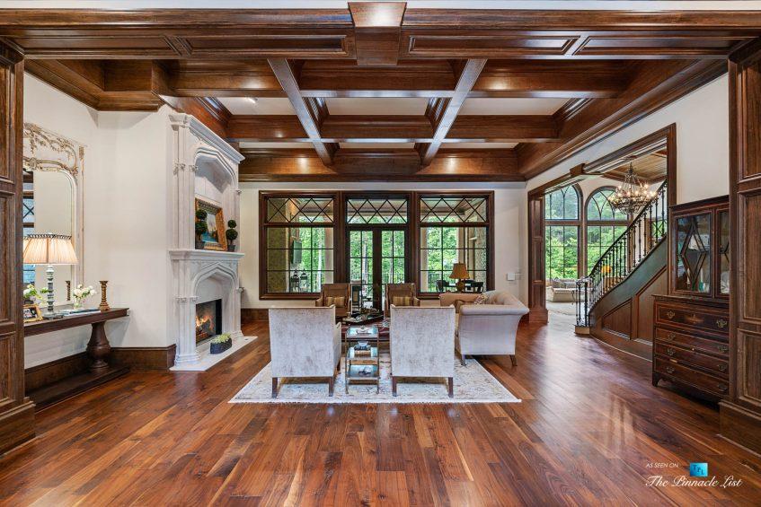 5705 Winterthur Ln, Sandy Springs, GA, USA - Atlanta Luxury Real Estate - Winterthur Estates Home - Living Room