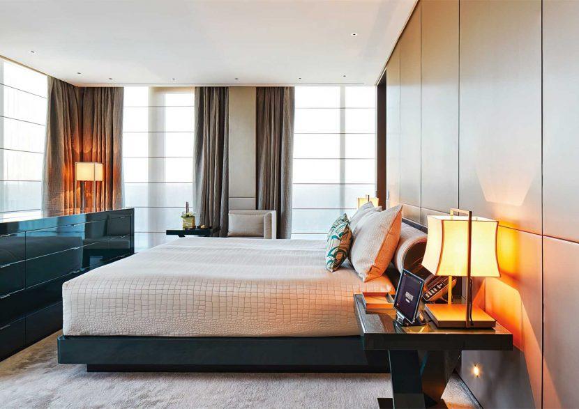 Armani Luxury Hotel Milano - Milan, Italy - Armani Milano Suite Bedroom