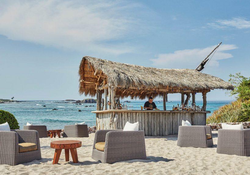 Four Seasons Luxury Resort Punta Mita - Nayarit, Mexico - Beach Bar