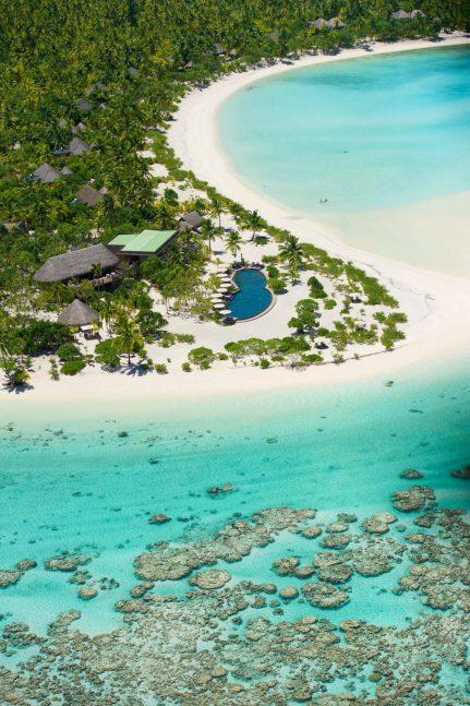 The Brando Luxury Resort - Tetiaroa Private Island, French Polynesia - Resort Aerial View