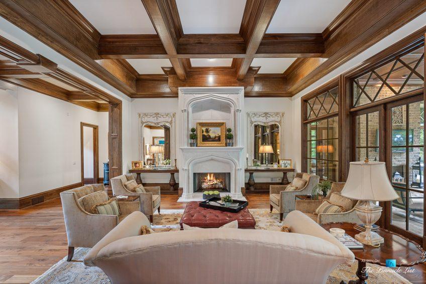 5705 Winterthur Ln, Sandy Springs, GA, USA - Atlanta Luxury Real Estate - Winterthur Estates Home - Formal Living Room