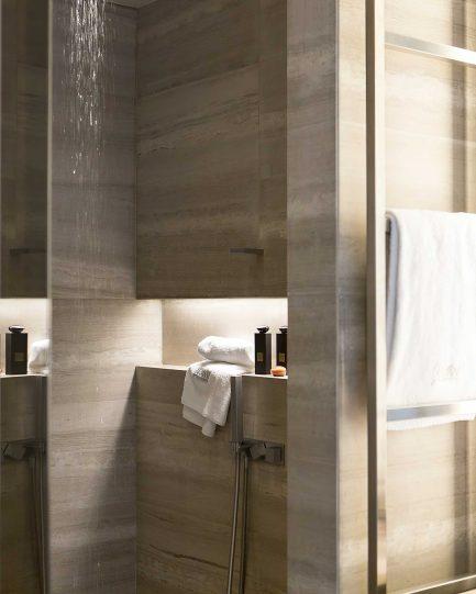 Armani Luxury Hotel Milano - Milan, Italy - Armani Suite Bathroom Shower