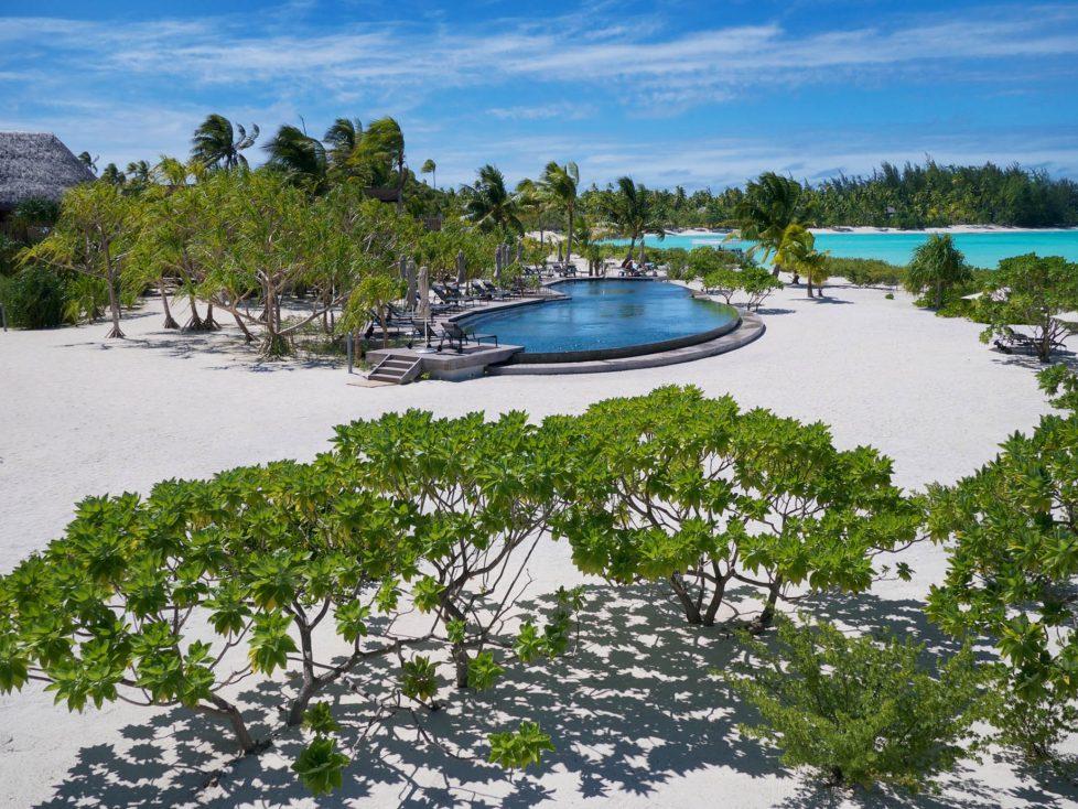 The Brando Luxury Resort - Tetiaroa Private Island, French Polynesia - Resort Beachfront Pool