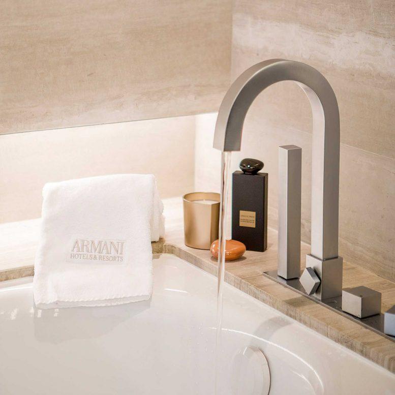 Armani Luxury Hotel Milano - Milan, Italy - Armani Suite Bathroom Faucet