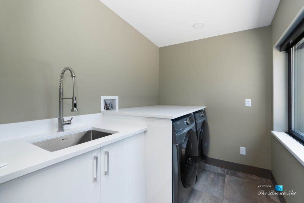 3350 Watson Rd, Belcarra, BC, Canada - Vancouver Luxury Real Estate - Laundry