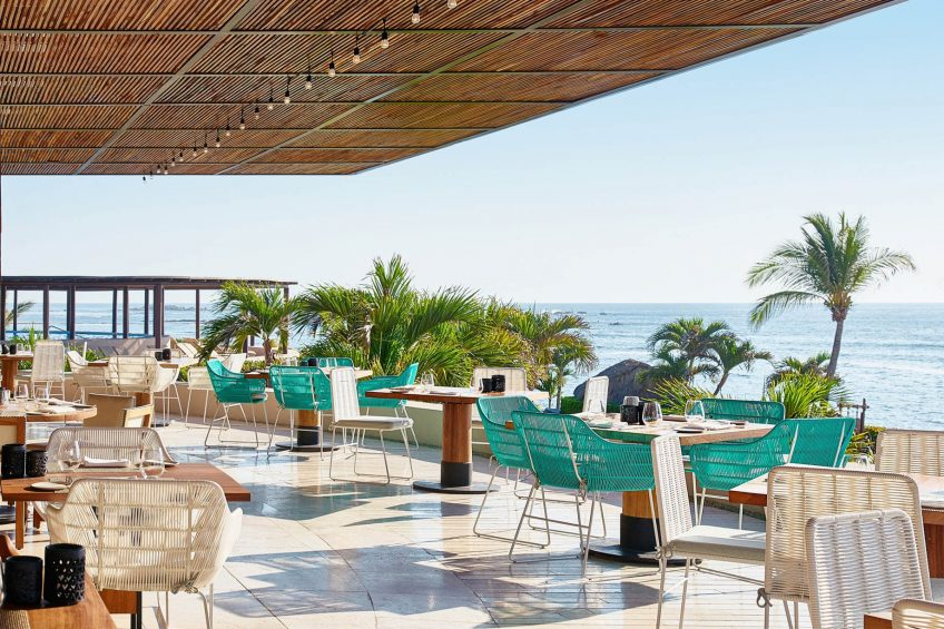 Four Seasons Luxury Resort Punta Mita - Nayarit, Mexico - Ocean View Restaurant Terrace