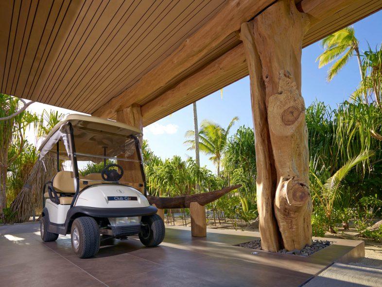 The Brando Luxury Resort - Tetiaroa Private Island, French Polynesia - Golf Car