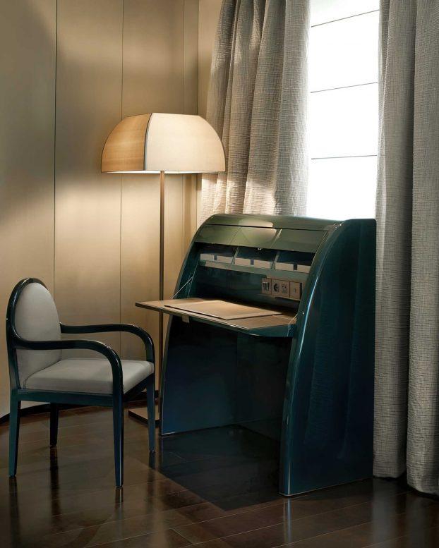 Armani Luxury Hotel Milano - Milan, Italy - Armani Suite Private Desk