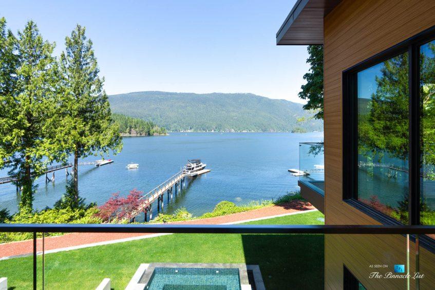 3350 Watson Rd, Belcarra, BC, Canada - Vancouver Luxury Real Estate - Oceanview Deck