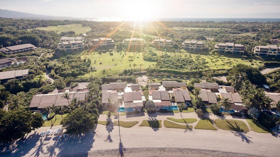 Four Seasons Luxury Resort Punta Mita - Nayarit, Mexico - Arena Beach House Aerial View