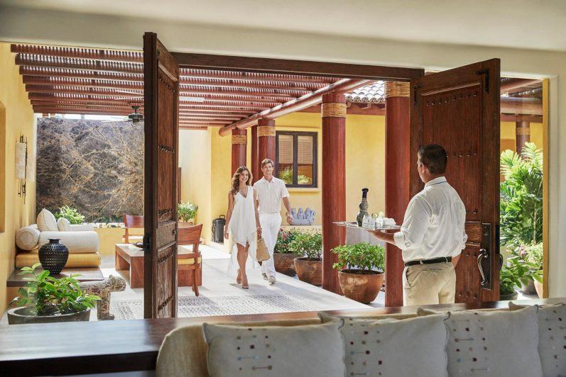 Four Seasons Luxury Resort Punta Mita - Nayarit, Mexico - Couple Arriving at Resort