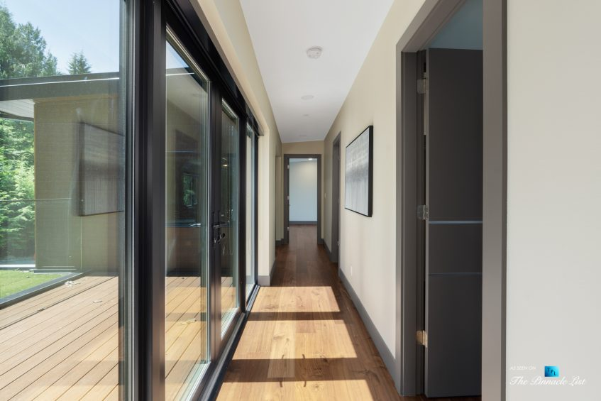 3350 Watson Rd, Belcarra, BC, Canada - Vancouver Luxury Real Estate - Modern Home Hallway