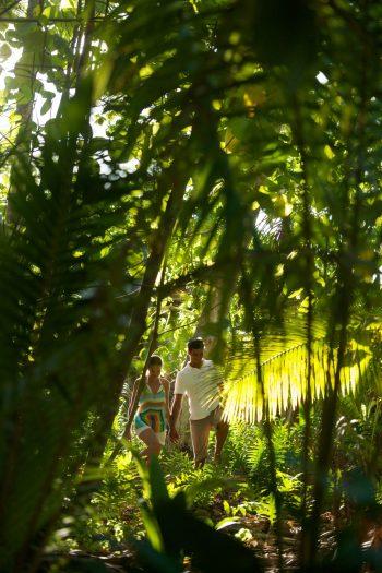 The Brando Luxury Resort - Tetiaroa Private Island, French Polynesia - Couple Walking