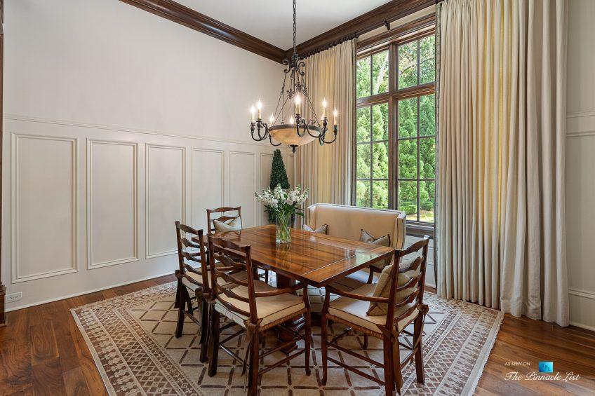 5705 Winterthur Ln, Sandy Springs, GA, USA - Atlanta Luxury Real Estate - Winterthur Estates Home - Kitchen Nook