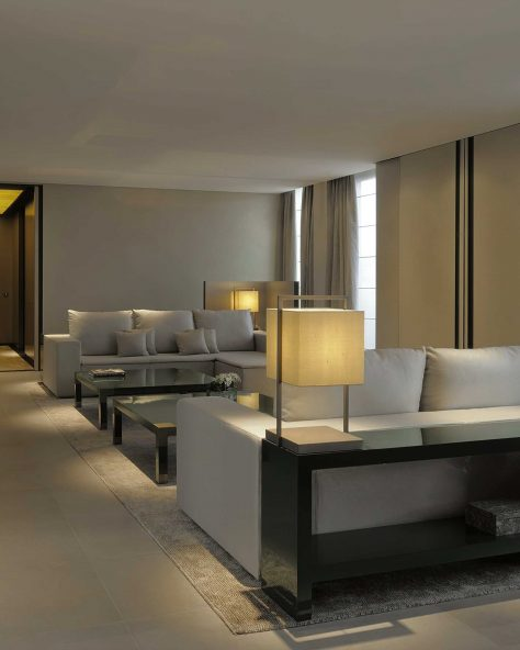 Armani Luxury Hotel Milano - Milan, Italy - Armani Suite Lounge