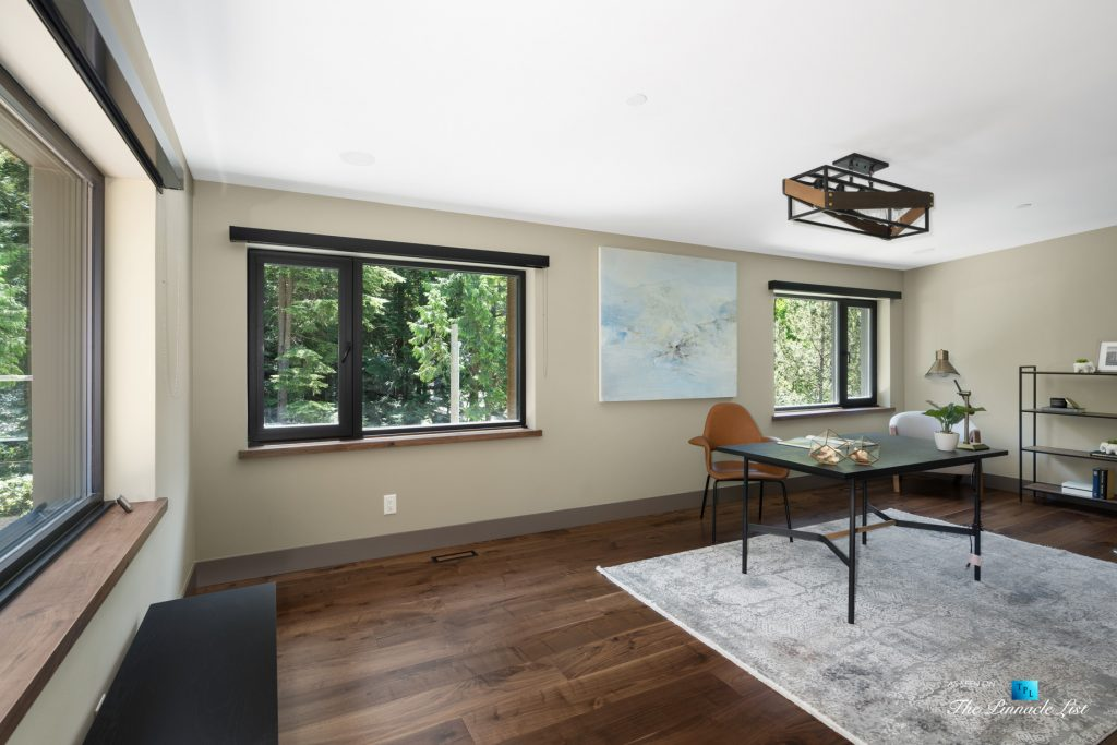 3350 Watson Rd, Belcarra, BC, Canada - Vancouver Luxury Real Estate - Modern Home Office