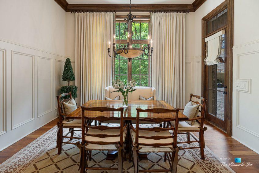 5705 Winterthur Ln, Sandy Springs, GA, USA - Atlanta Luxury Real Estate - Winterthur Estates Home - Kitchen Table