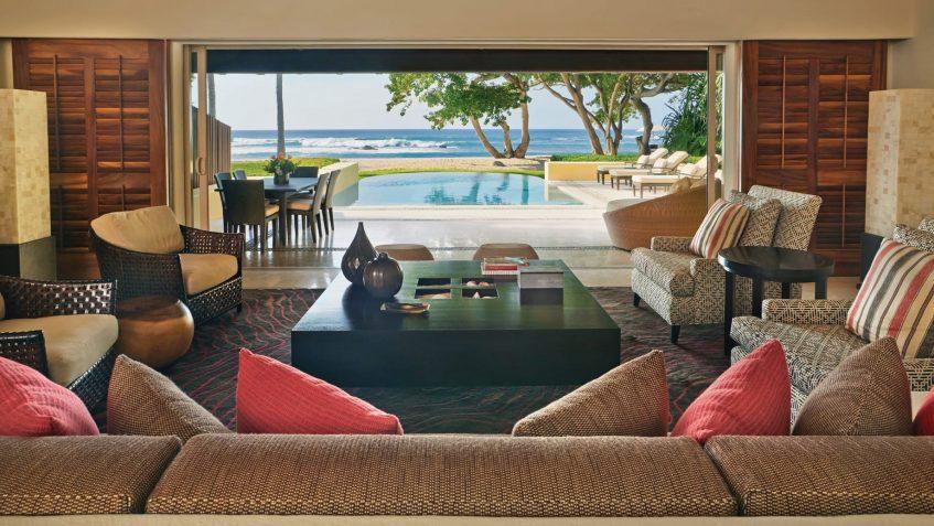 Four Seasons Luxury Resort Punta Mita - Nayarit, Mexico - Arena Beach House Living Room View