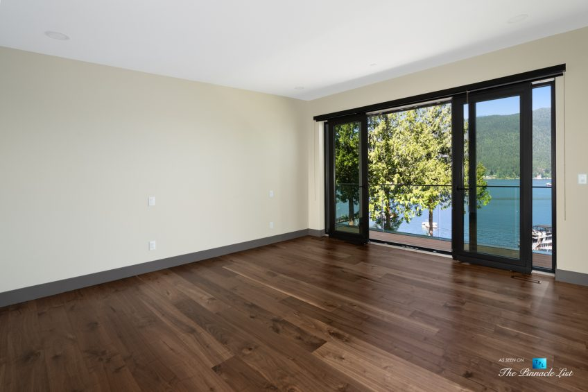 3350 Watson Rd, Belcarra, BC, Canada - Vancouver Luxury Real Estate - Oceanview Bedroom