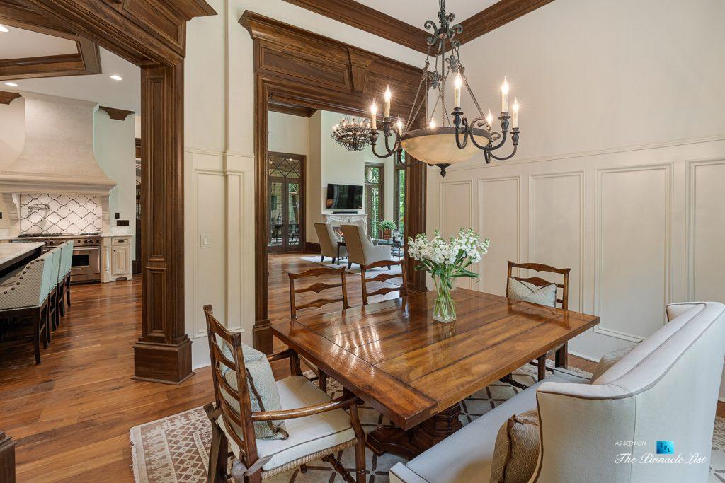 5705 Winterthur Ln, Sandy Springs, GA, USA - Atlanta Luxury Real Estate - Winterthur Estates Home - Kitchen Nook Table