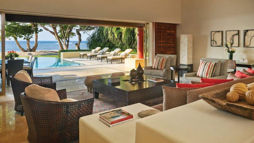 Four Seasons Luxury Resort Punta Mita - Nayarit, Mexico - Arena Beach House Living Room