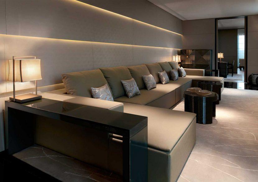 Armani Luxury Hotel Milano - Milan, Italy - Armani Suite Living Room