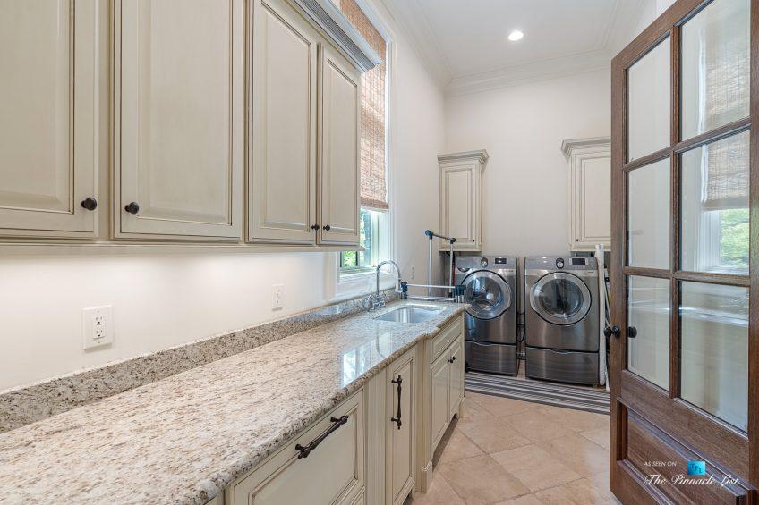 5705 Winterthur Ln, Sandy Springs, GA, USA - Atlanta Luxury Real Estate - Winterthur Estates Home - Laundry
