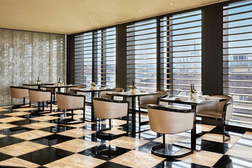Armani Luxury Hotel Milano - Milan, Italy - Armani Ristorante
