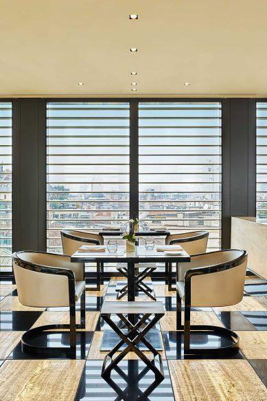 Armani Luxury Hotel Milano - Milan, Italy - Armani Ristorante Table