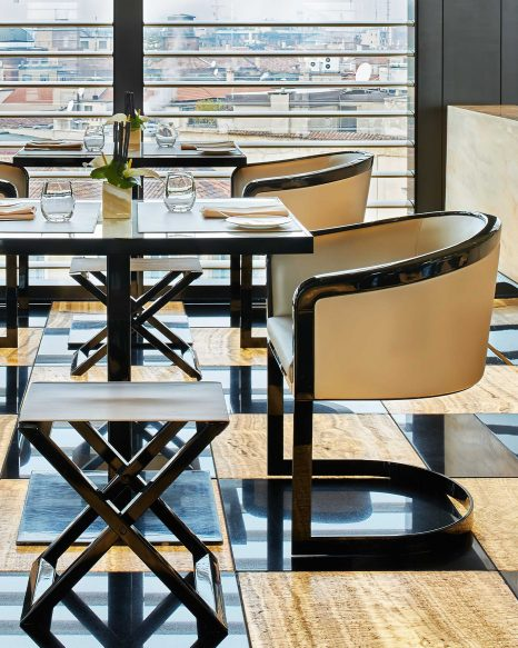 Armani Luxury Hotel Milano - Milan, Italy - Armani Ristorante Table Setting