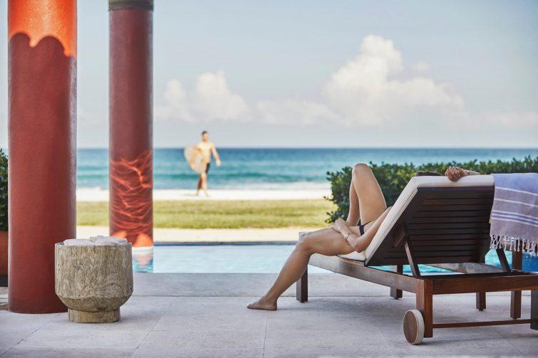 Four Seasons Luxury Resort Punta Mita - Nayarit, Mexico - Beach House Pool Deck