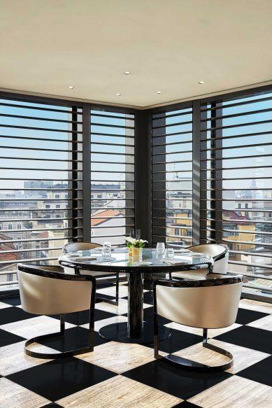 Armani Luxury Hotel Milano - Milan, Italy - Armani Ristorante Corner Table