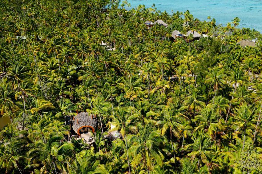 The Brando Luxury Resort - Tetiaroa Private Island, French Polynesia - Spa Aerial View