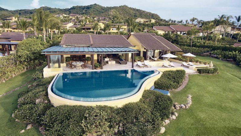 Four Seasons Luxury Resort Punta Mita - Nayarit, Mexico - Cielo Oceanfront Villa Aerial View