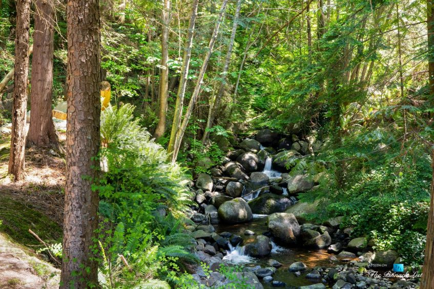 3350 Watson Rd, Belcarra, BC, Canada - Vancouver Luxury Real Estate - Natural Setting with Creek