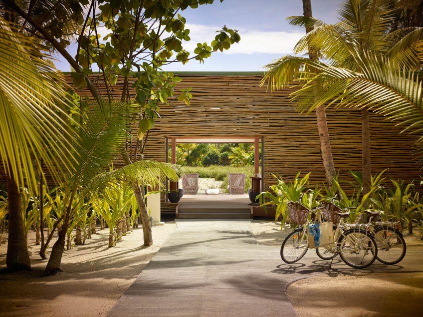 The Brando Luxury Resort - Tetiaroa Private Island, French Polynesia - Spa Entrance