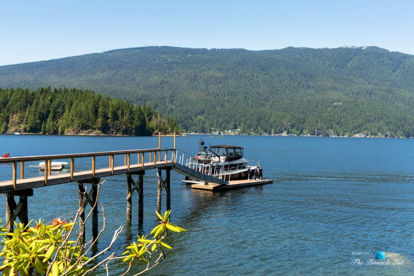 3350 Watson Rd, Belcarra, BC, Canada - Vancouver Luxury Real Estate - Private Dock with Boat
