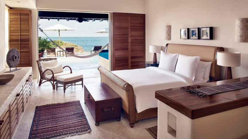 Four Seasons Luxury Resort Punta Mita - Nayarit, Mexico - Cielo Oceanfront Villa Bedroom