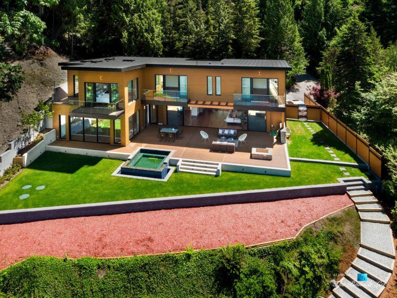 3350 Watson Rd, Belcarra, BC, Canada - Vancouver Luxury Real Estate - Modern Indoor Ourdoor Living Oceanfront Home
