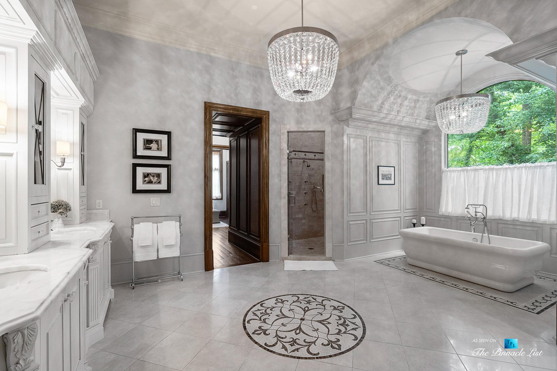 5705 Winterthur Ln, Sandy Springs, GA, USA - Atlanta Luxury Real Estate - Winterthur Estates Home - Master Bathroom