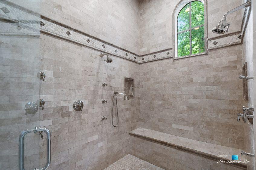 5705 Winterthur Ln, Sandy Springs, GA, USA - Atlanta Luxury Real Estate - Winterthur Estates Home - Master Bathroom Ceiling