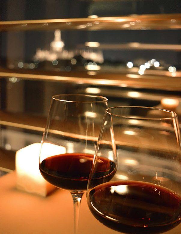 Armani Luxury Hotel Milano - Milan, Italy - Red Wine Glass