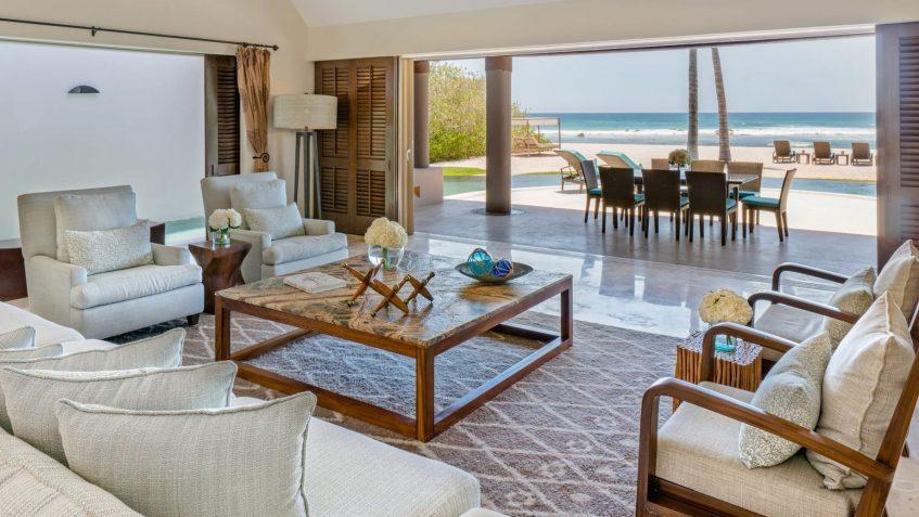 Four Seasons Luxury Resort Punta Mita - Nayarit, Mexico - Coral Beach House Living Room