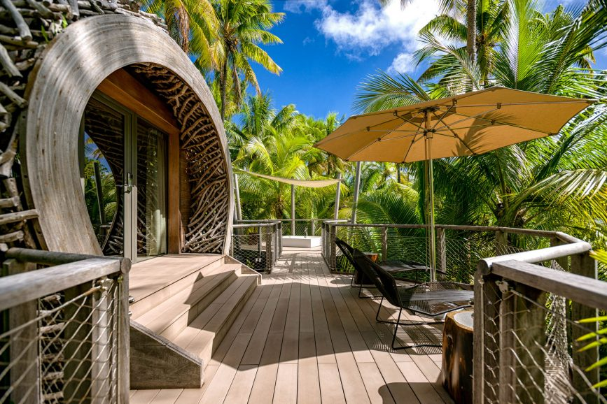 The Brando Luxury Resort - Tetiaroa Private Island, French Polynesia - Birdsnest Spa Deck