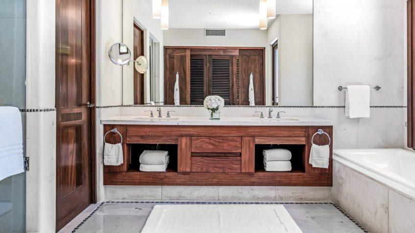 Four Seasons Luxury Resort Punta Mita - Nayarit, Mexico - Coral Beach House Bathroom Mirror